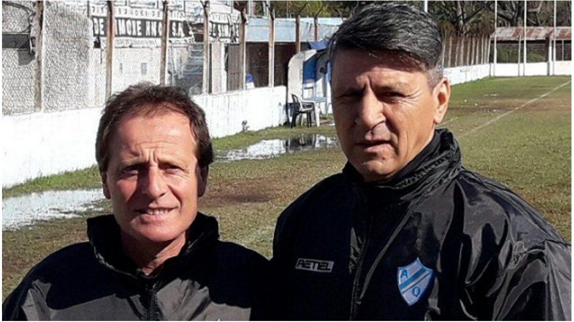 El Moncho ya dirigió sus primeras prácticas (foto:Argentino de Quilmes)