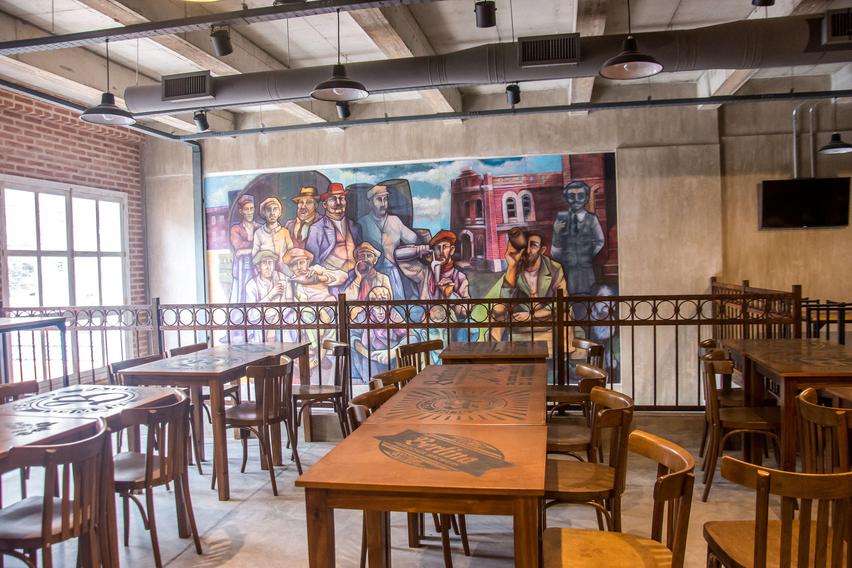 El salón de arriba en la escuela de Berlina