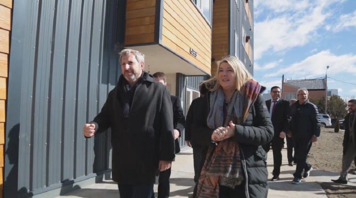 Frigerio: En dos años Tierra del Fuego va a ser la primera en tener 100% de agua potable y cloacas