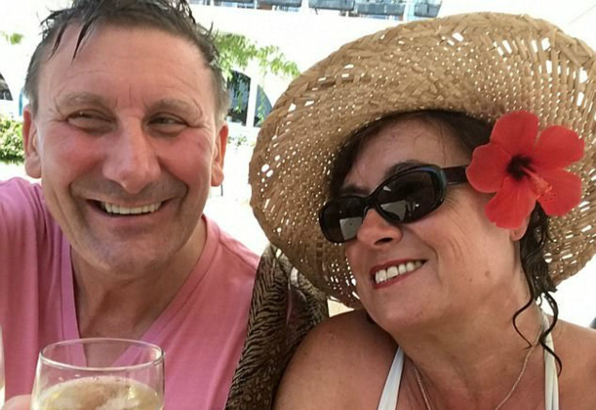 Louise y Dave se reencontraron gracias a Facebook