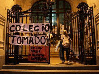 El Colegio Nacional de Buenos Aires, tomado (Foto de archivo)