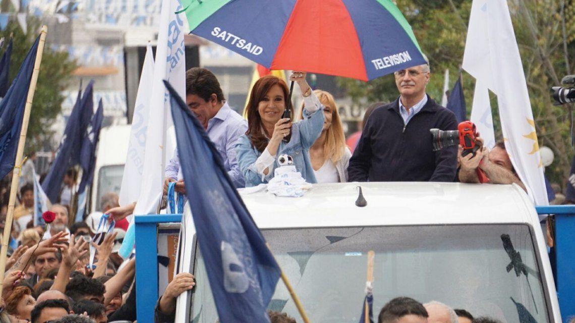 En La Matanza, Cristina Kirchner pidió una Argentina unida