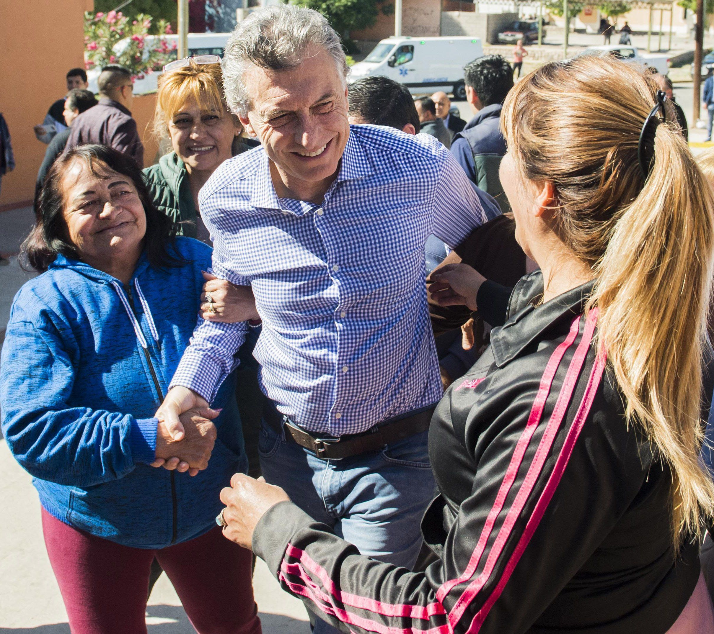 Macri estuvo en La Rioja para un timbreo: No queremos más mafia