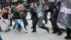 Referéndum en Cataluña: así fue la salvaje represión policial
