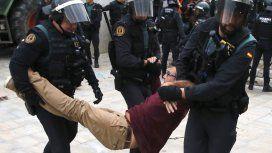 Referéndum en Cataluña: son más de 700 los heridos