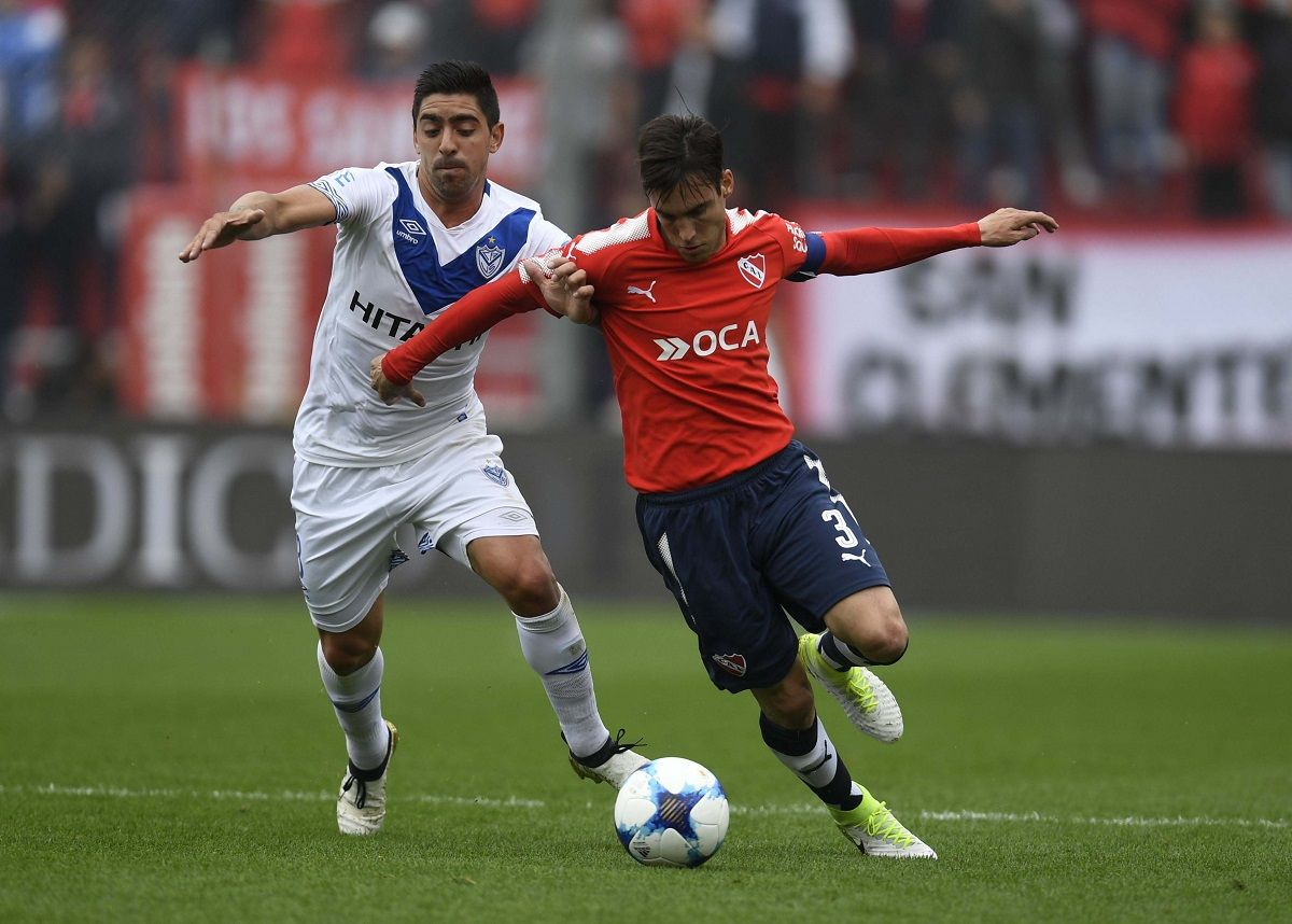 En un duelo de necesitados, Independiente derrotó a Vélez