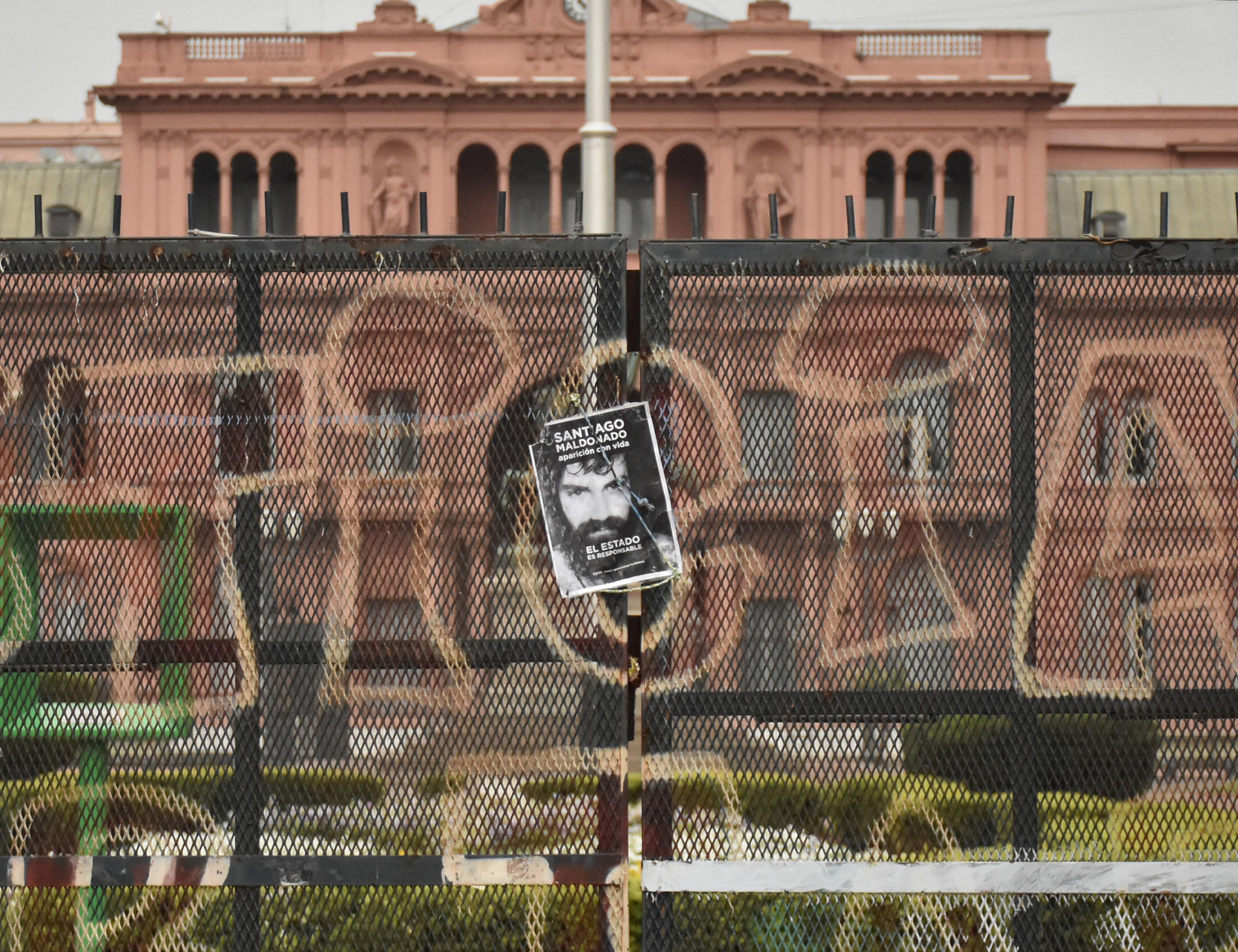 Multitudinaria marcha, a dos meses de la desaparición de Santiago Maldonado