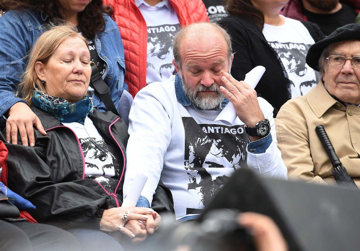 El reclamo de Sergio Maldonado para Mauricio Macri