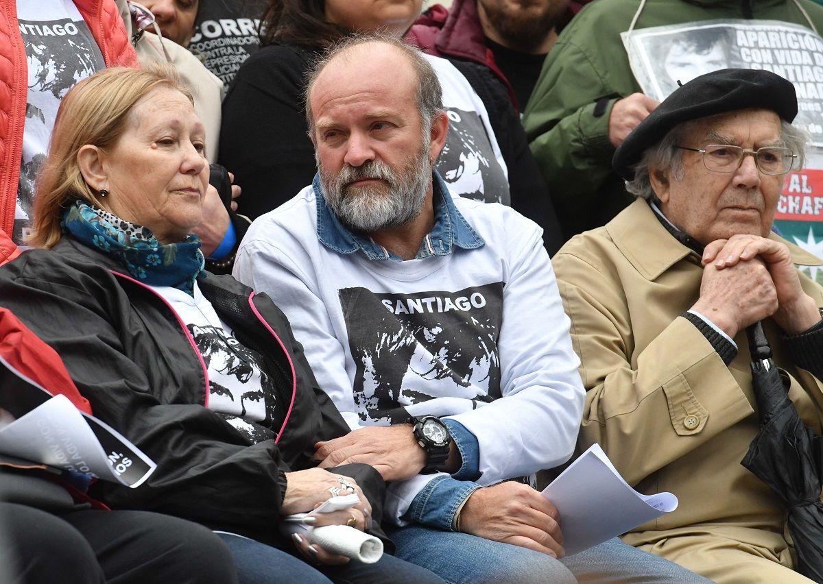 Mi vieja lo espera a Santiago vivo todos los días, por eso tengo esperanza