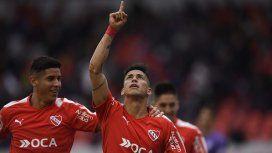 Gol de Meza para Independiente