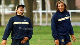 Maradona y Caniggia, una sociedad que brilló en la Selección y también en Boca