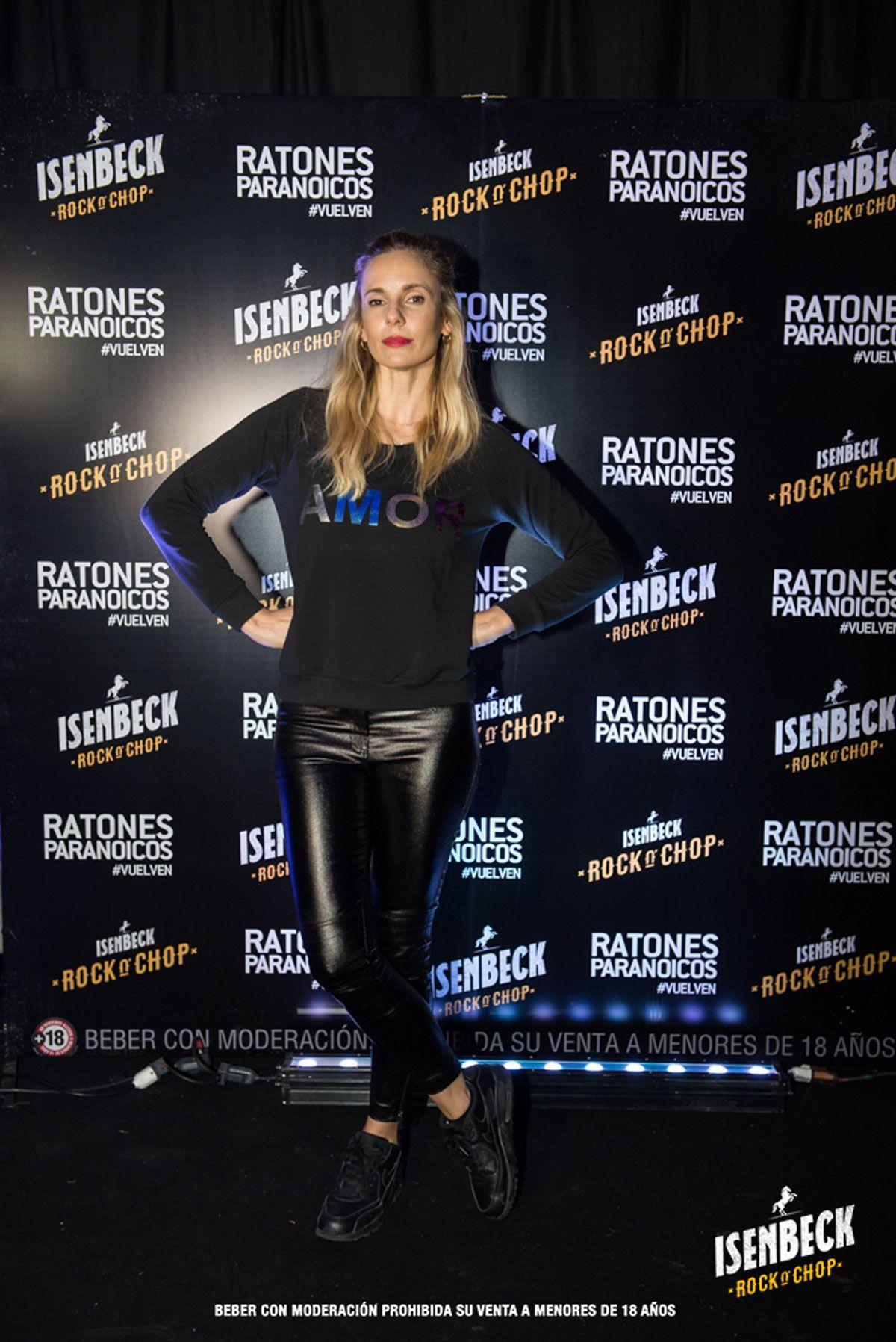 Julieta Cardinali en el regreso de Los Ratones Paranoicos