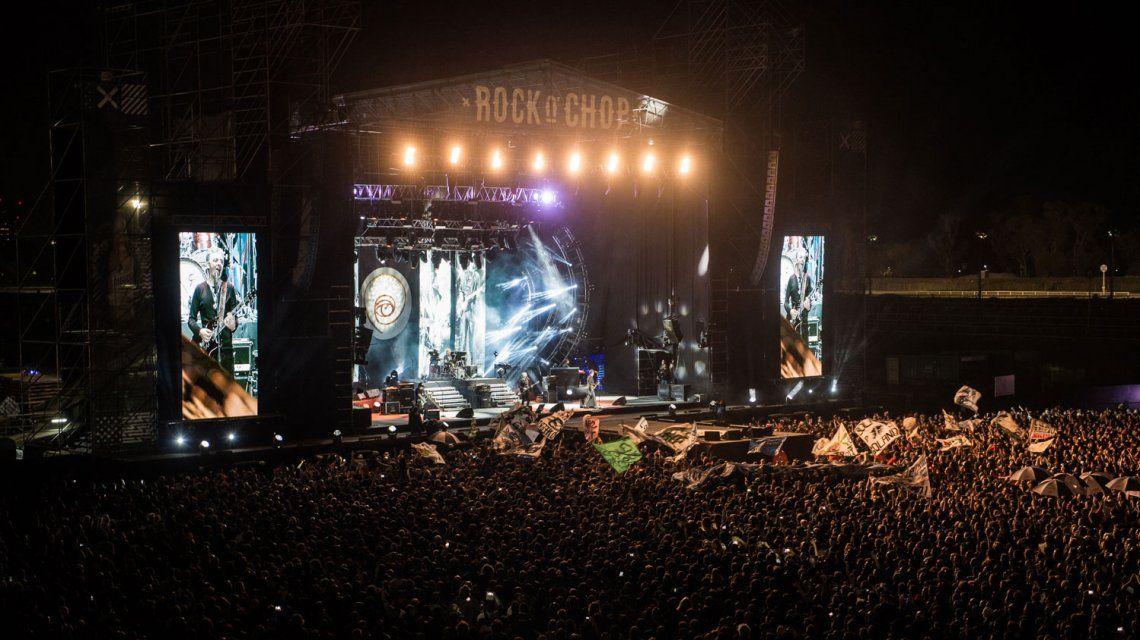Rock N Chop, una increíble experiencia en el regreso de los Ratones Paranoicos