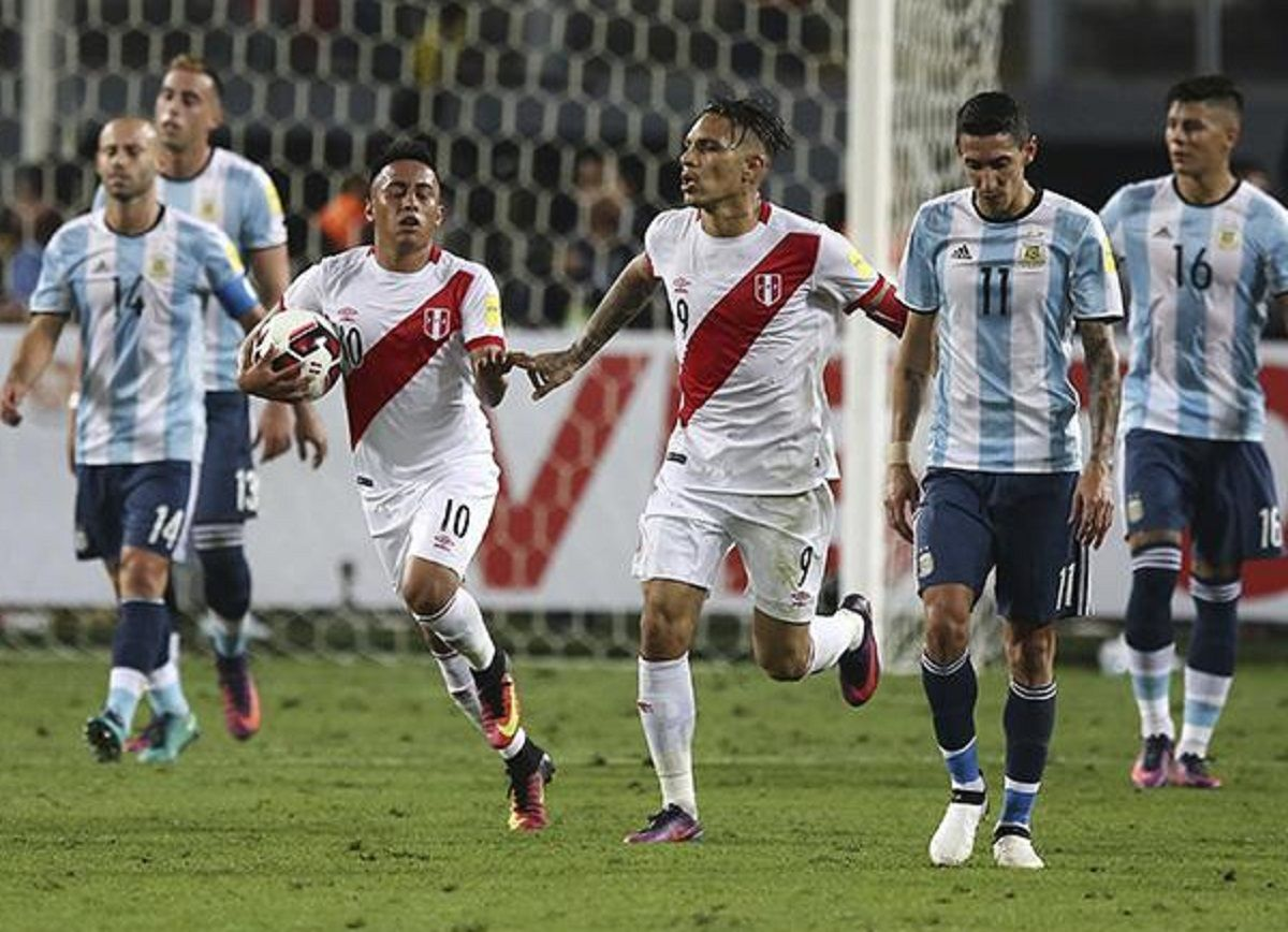 Argentina - Perú: horario, formaciones y TV