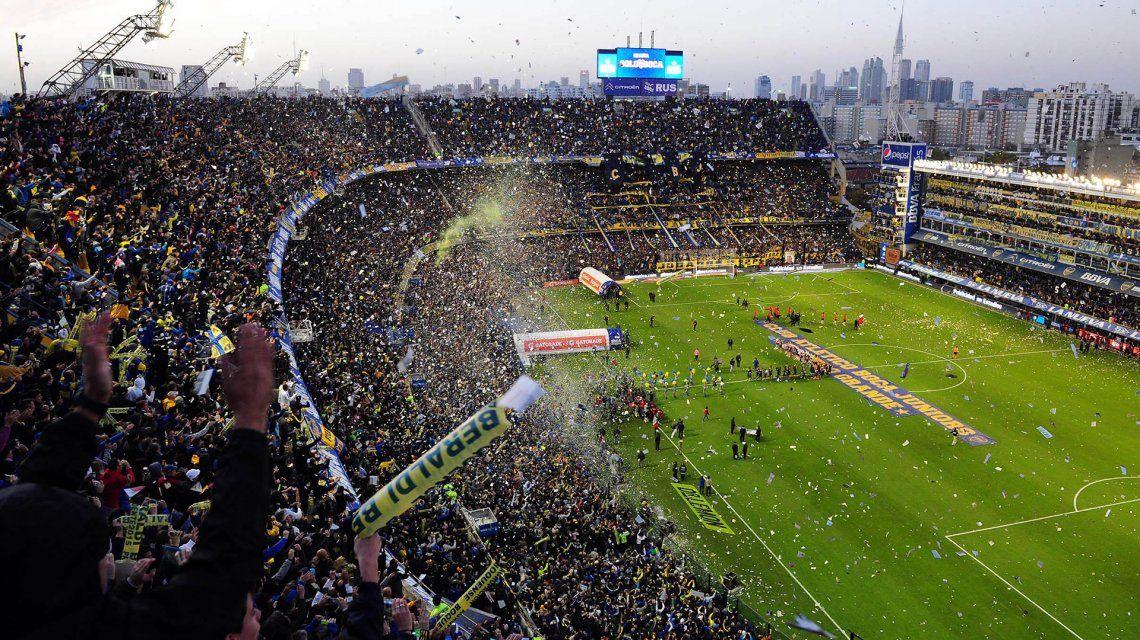 Los peruanos quisieron confirmarlo: el video que muestra cómo tiembla La Bombonera
