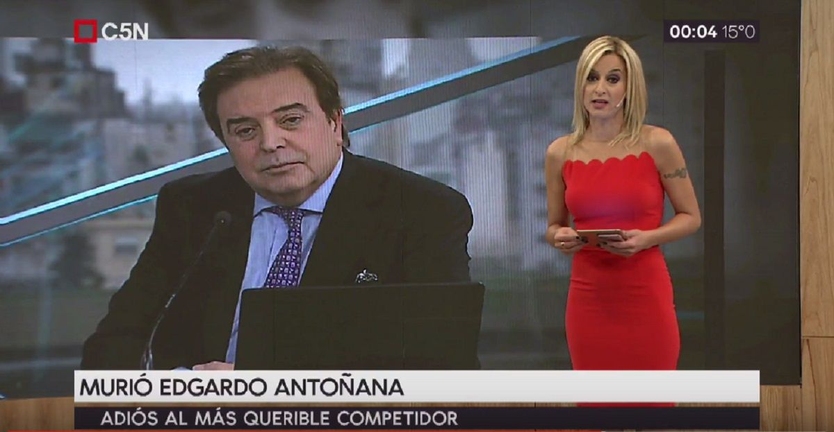 Edgardo Antoñana homenajeado en C5N