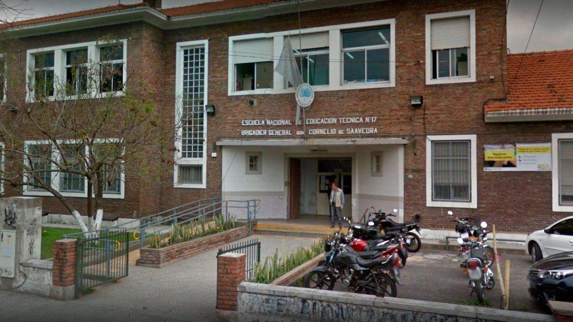 Ambos adolescentes iban a la escuela técnica Cornelio Saavedra