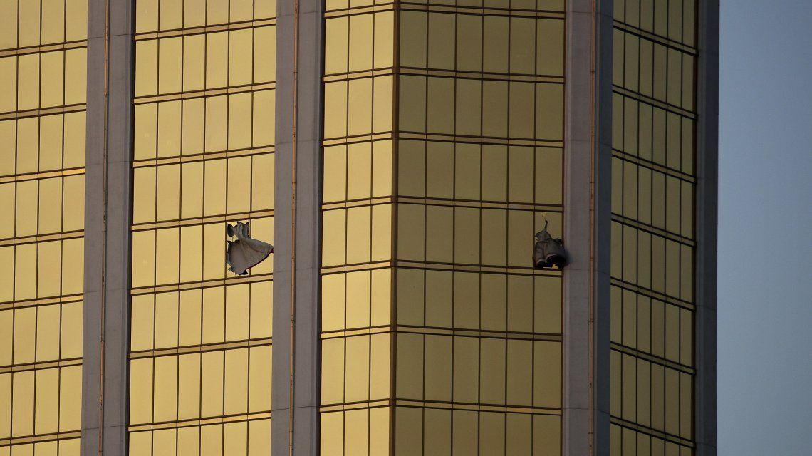 Aparecieron fotos de las armas del atacante de Las Vegas