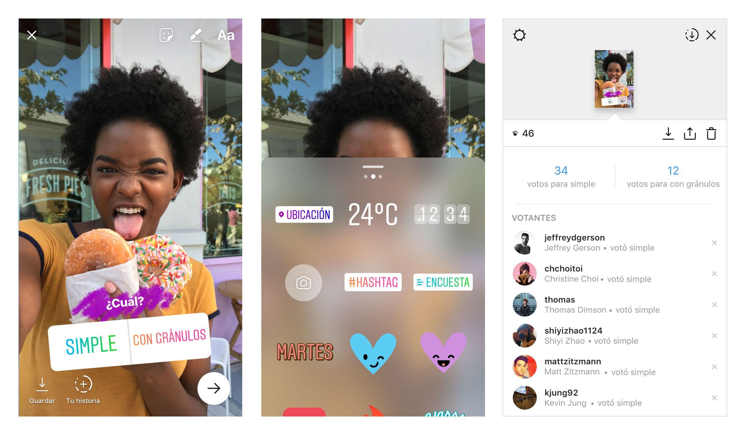 Instagram permite hacer encuestas
