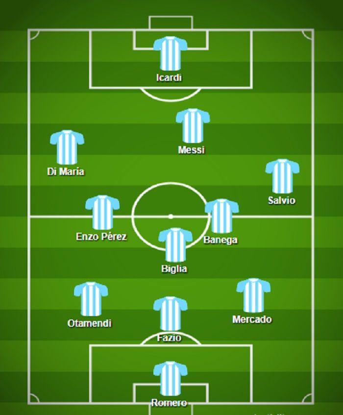 ¿Serán éstos? La probable formación de Argentina para jugar con Perú