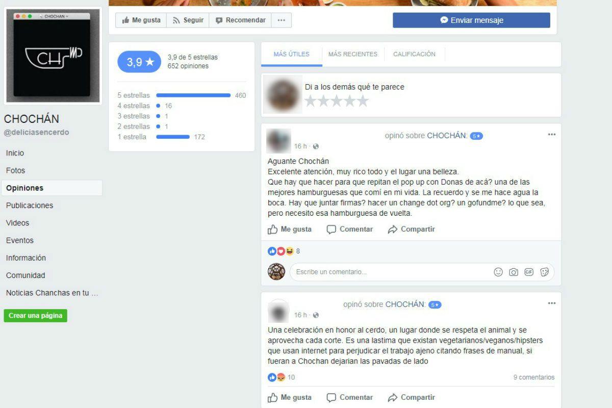 La reputación de Chochán no se vio afectada por el intento de boicot