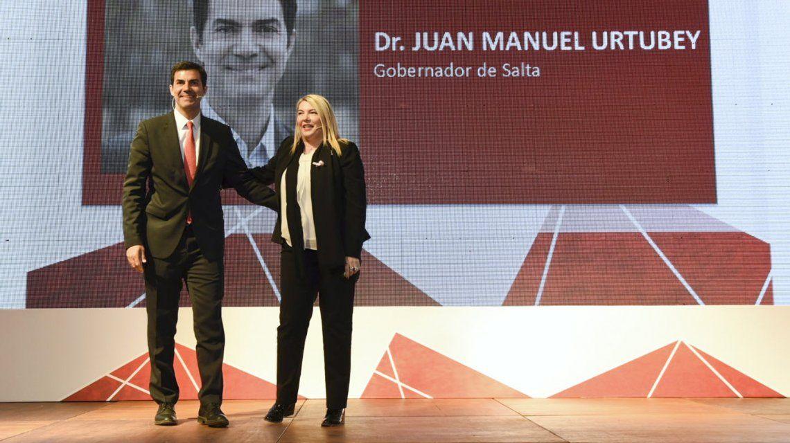 Juan Manuel Urtubey yRosana Bertone
