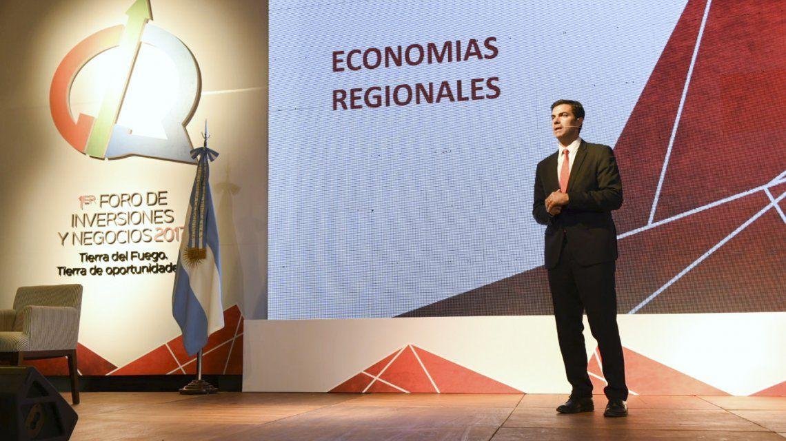 Juan Manuel Urtubey en el Primer Foro de Inversiones y Negocios de Tierra del Fuego