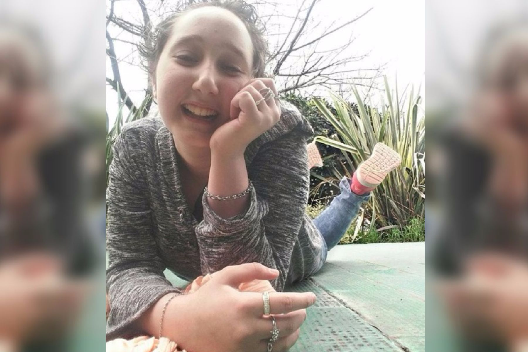 Celeste, la chica que superó una leucemia y se convirtió en youtuber para que nadie baje los brazos