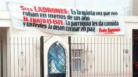 La parroquía queda en González Catan