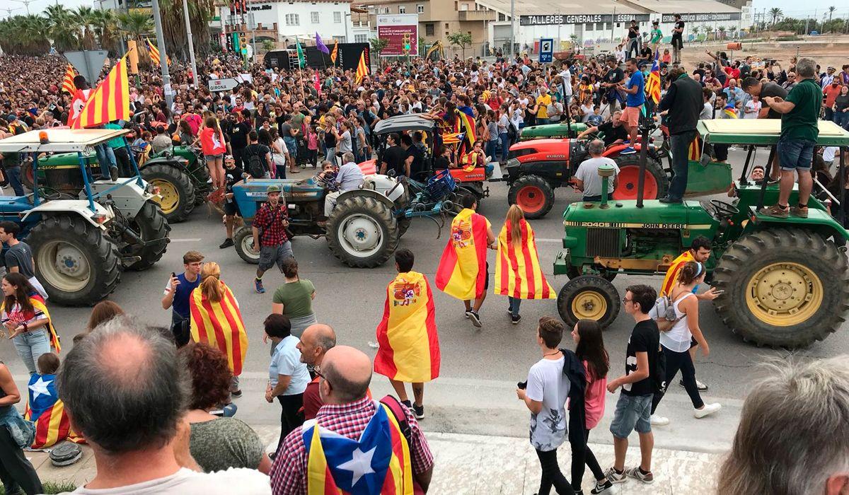 Vamos a declarar la independencia de Cataluña en cuestión de días, dice el presidente Puigdemont