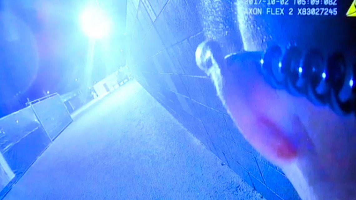 Las Vegas: los primeros instantes de la llegada de la policía al lugar del tiroteo