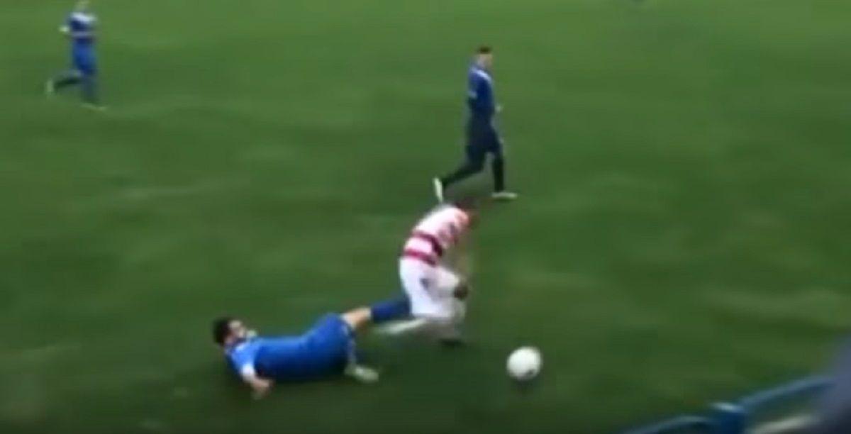 Impactante: por esta patada, un jugador perdió un testículo en Bosnia