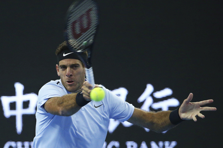 Del Potro jugó muy mal ante Dimitrov y fue eliminado del ATP 500 de Beijing