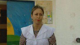 Susana Pompili, vicedirectora de la escuela Nº 27 Juan Manuel de Rosas de Hurlingham
