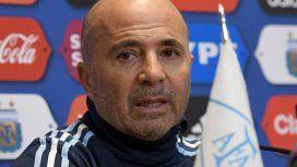 Jorge Sampaoli, DT de la Selección argentina de fútbol