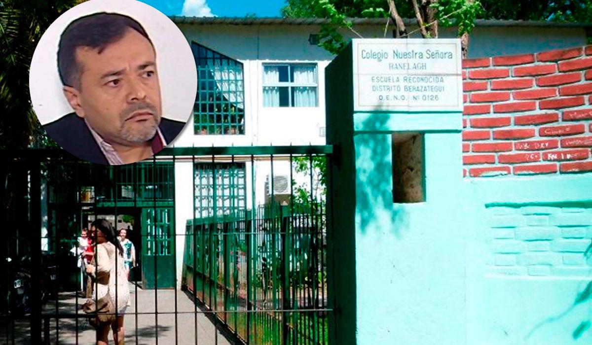 Esta es la escuela donde habría ocurrido el abuso