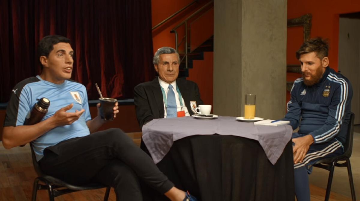 La reunión secreta entre Messi, Suárez y el maestro Tabárez, según Martín Bossi