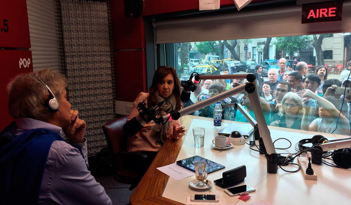 La entrevista de Cristina Kirchner con Beto Casella