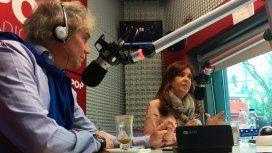 Cristina Kirchner, con Beto Casella: Está claro que C5N no era mío
