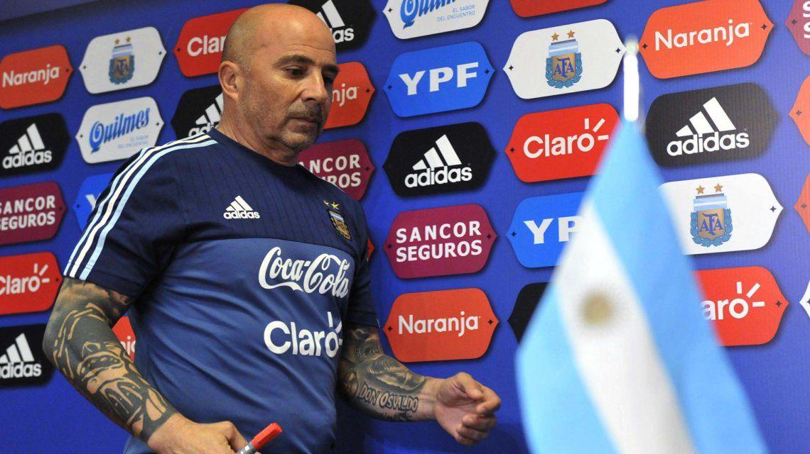 El entrenador de la Selección
