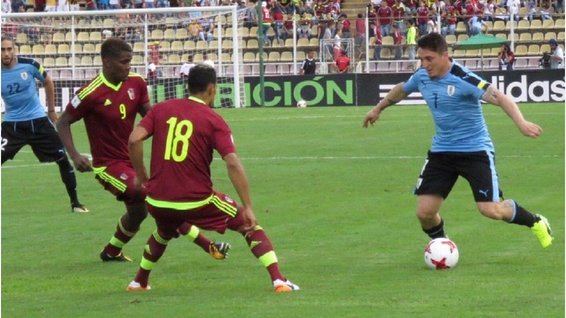Uruguay enfrenta a Venezuela por las Eliminatorias - Crédito: @Uruguay