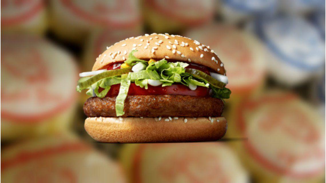 Una hamburguesa para los veganos