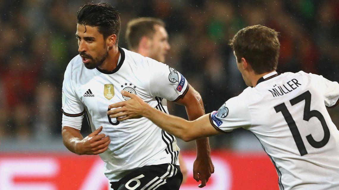 Alemania le ganó a Irlanda del Norte y ya está en Rusia 2018