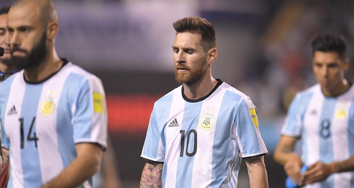 Argentina tiene mucho que perder si se queda afuera de Rusia 2018