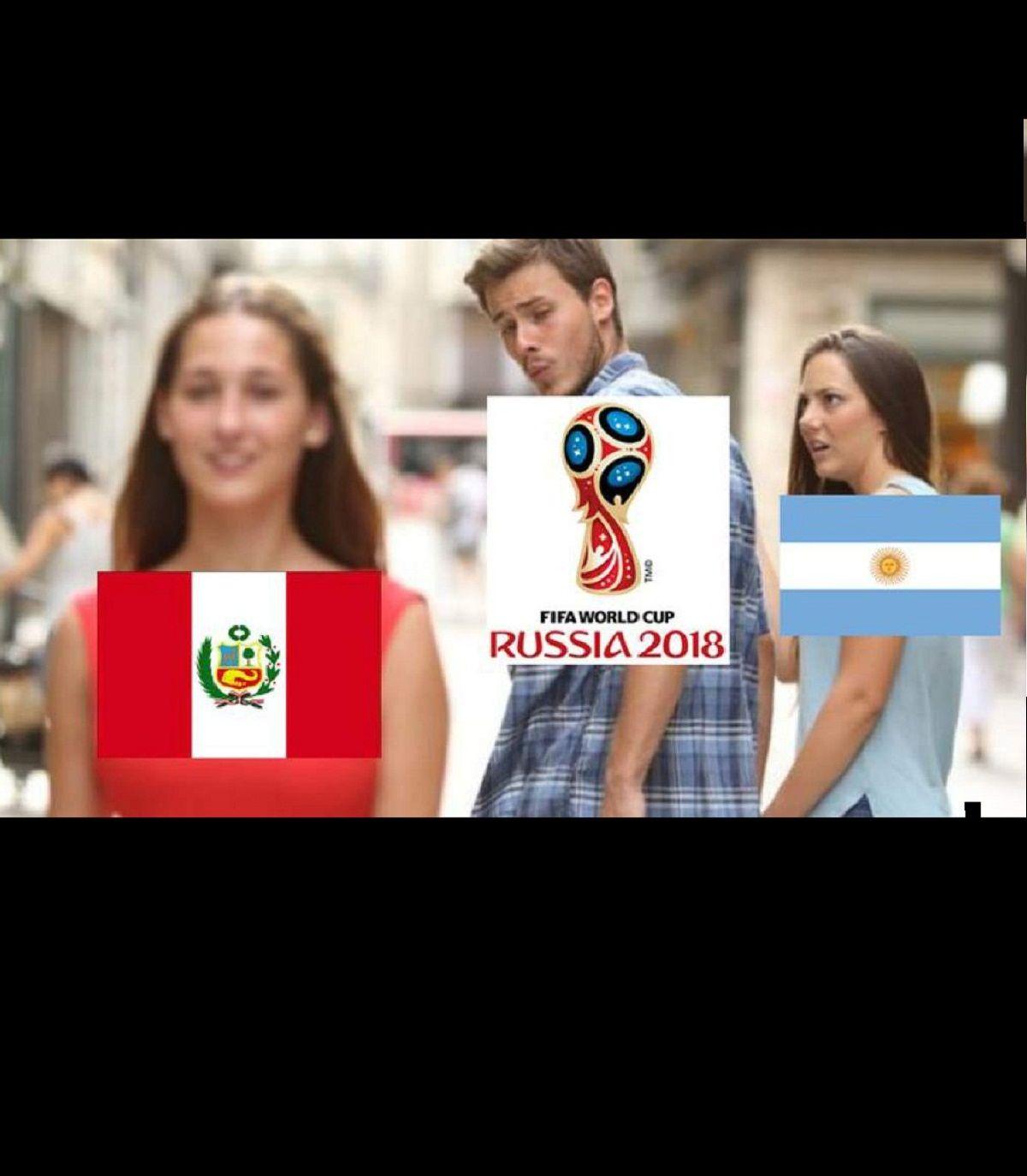 Memes de Argentina 0 - Perú 0