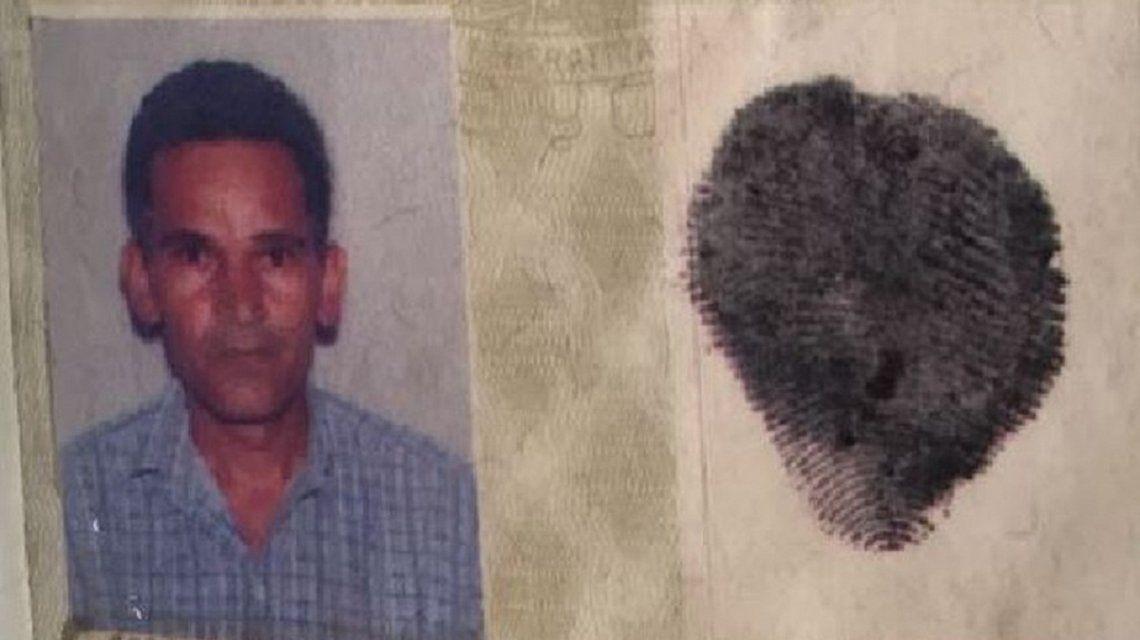Identificación de Damião Soares dos Santos