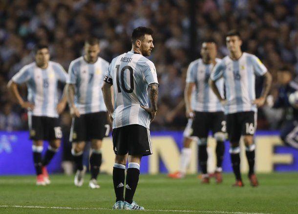 La desazón de Messi y todos sus compañeros