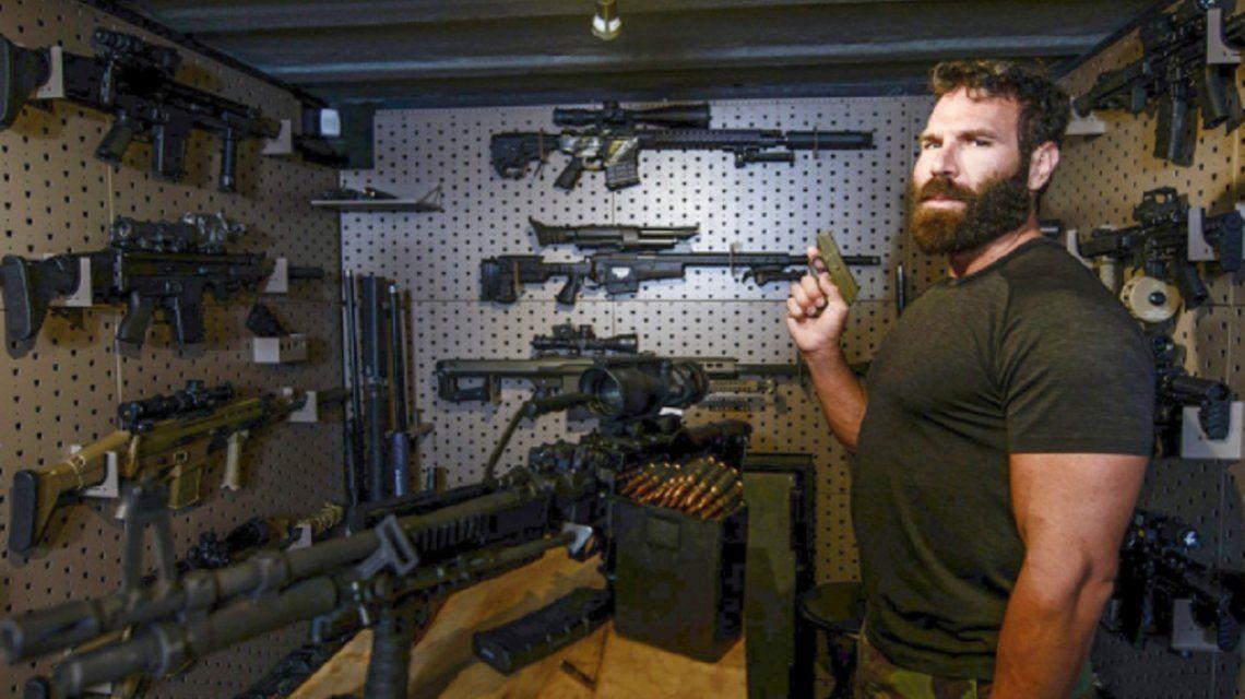Surge un nuevo video de Dan Bilzerian, el Rey de Instagram, durante el tiroteo de Las Vegas