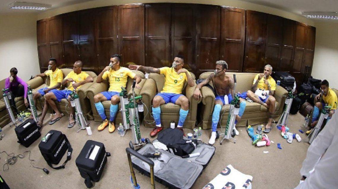 La polémica imagen que subió el astro brasileño