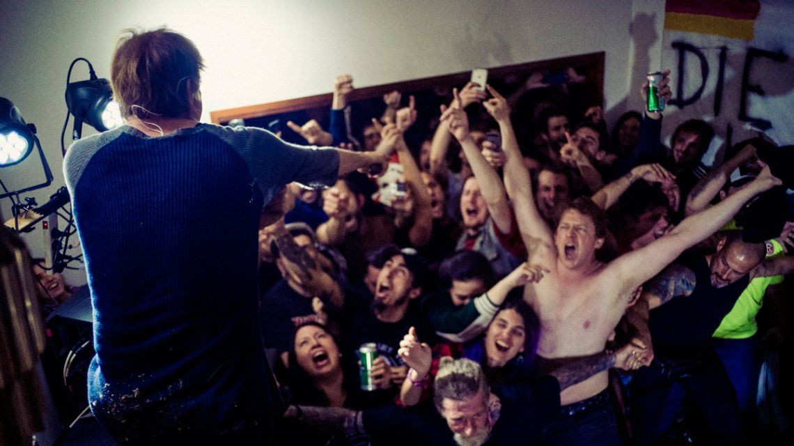 Die Toten Hosen tocó en la casa de un fanático en Vicente López